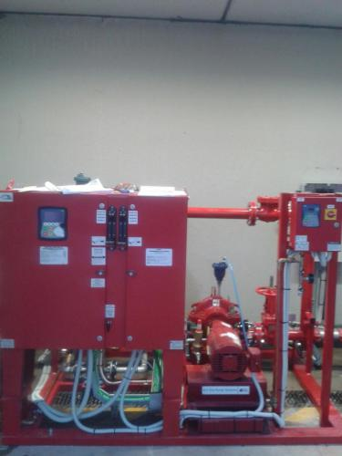 Water mist fire suppression system 01