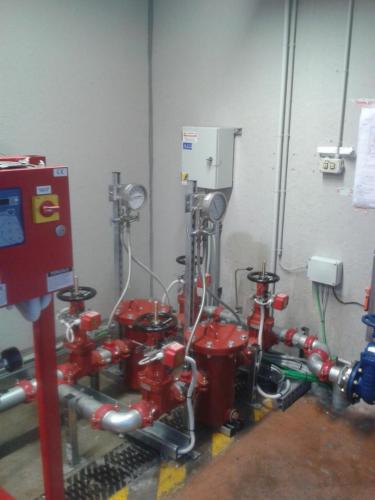 Water mist fire suppression system 02