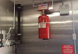 سیستم اطفا حریق آشپزخانه های صنعتی و مدرن :