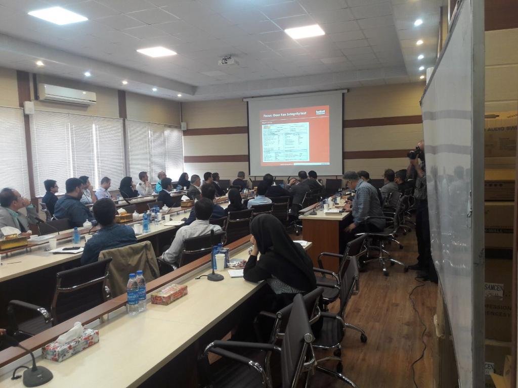 همایش تخصصی آموزش سیستم اطفا حریق گازی