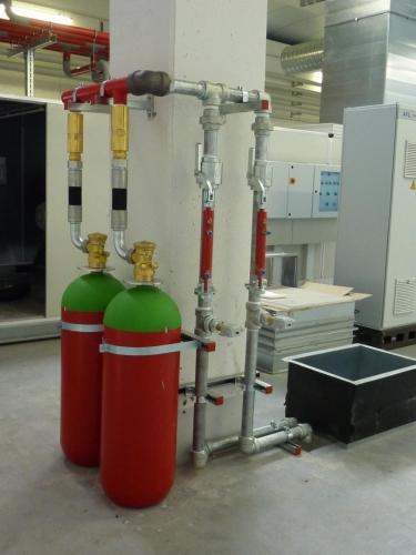 سیستم های گازی هالوکربنی 19