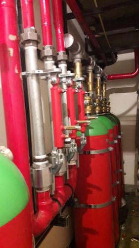 سیستم های گازی هالوکربنی 10