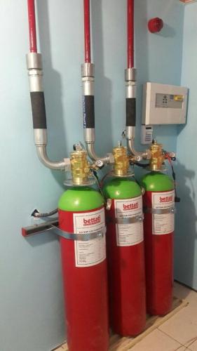 سیستم های گازی هالوکربنی 15